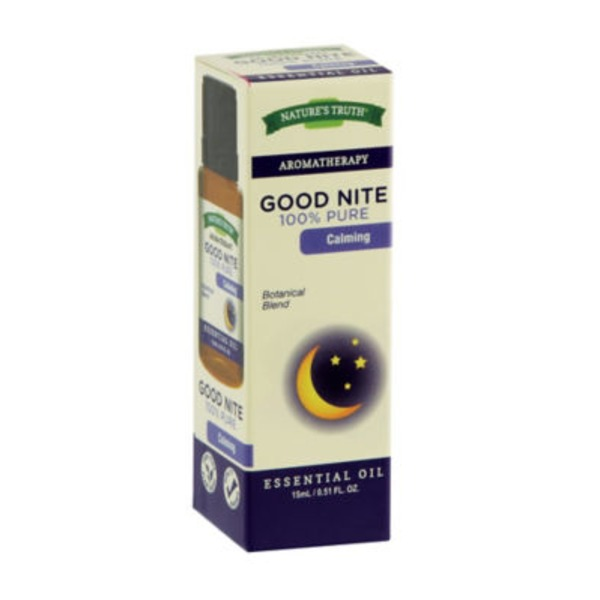 Nature's Truth Organic Aromatherapy Good Nite 100% Pure Essential Oil