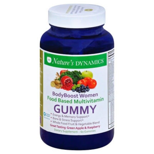 Nature's Dynamics Body Boost Women's Organic Multivitamin Gummy