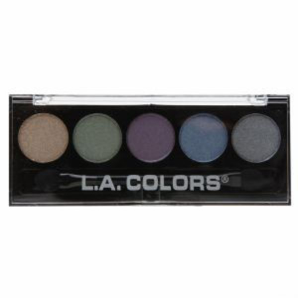 L.A. Colors Mesmerize 5 Color Metallic Eyeshadow