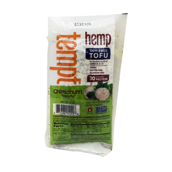 Living Harvest Chimichurri Hemp Tofu