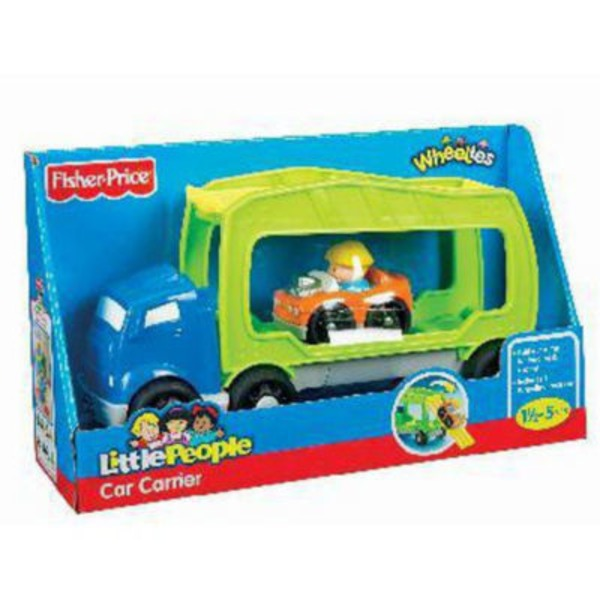 Fisher-Price Little People Wheelies Vehicle Carrier (18+ Months)