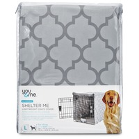 You & Me Shelter Me Lightweight Crate Cover Large For Crates 36