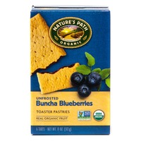 Nature's Path Unfrosted Buncha Blueberries Toaster Pastries 6 Count