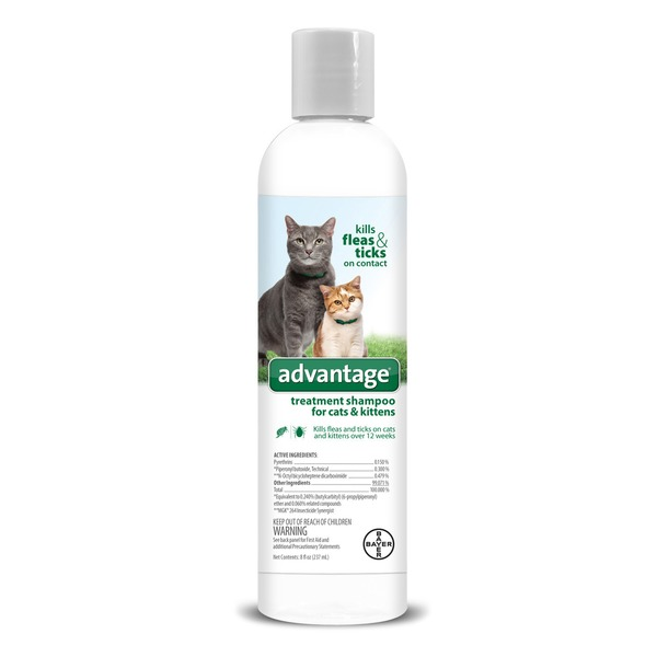 Advantage Flea & Tick Treatment Shampoo For Cats & Kittens