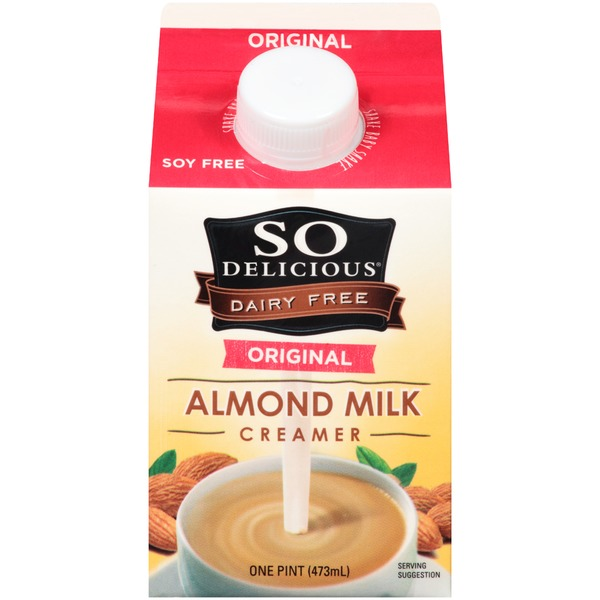 So Delicious Dairy Free Original Almond Milk Creamer
