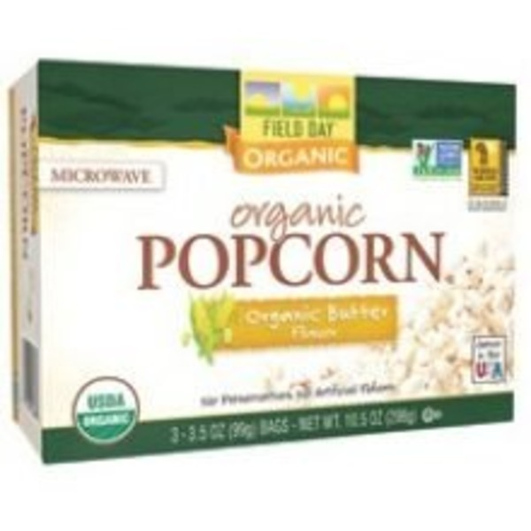 Field Day Organic Light Butter Popcorn