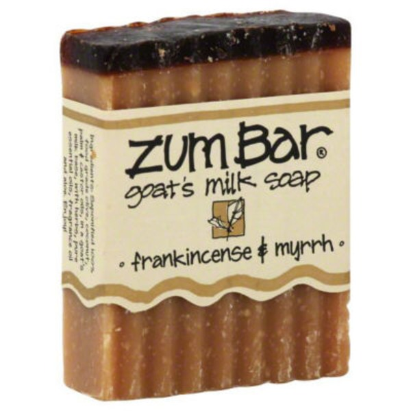 Zum Bar Frankincense & Myrrh Goat's Milk Soap