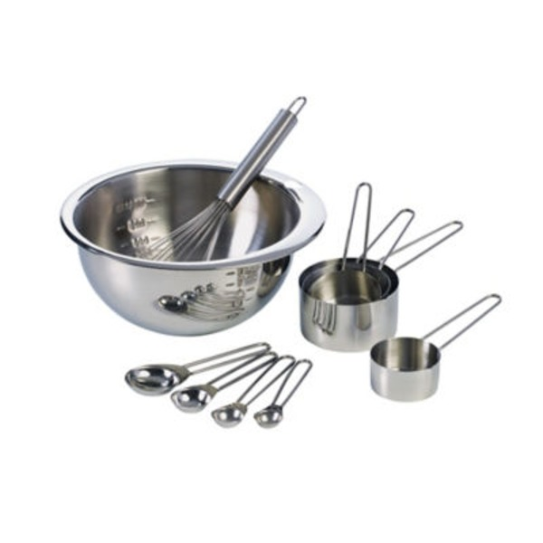 Inox Kitchenware Stainless Steel Measuring Set