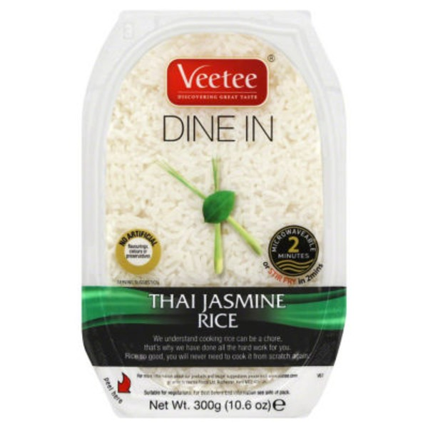 Veetee Dine In Thai Jasmine Rice