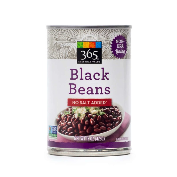365 No Salt Added Black Beans