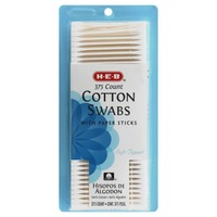 H-E-B Cotton Swabs With Paper Sticks