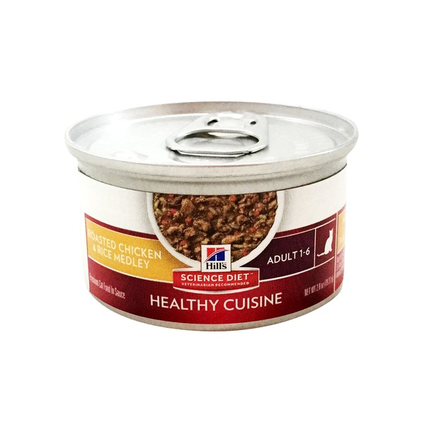 Hill's Science Diet Adult Chicken & Rice Cat Food