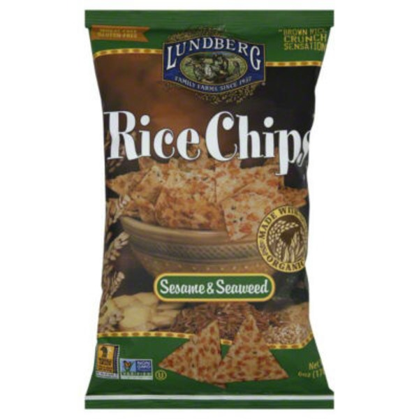 Lundberg Family Farms Sesame Seaweed Rice Chips
