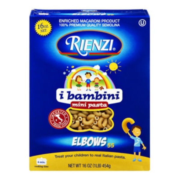 Rienzi Elbows Mini Pasta