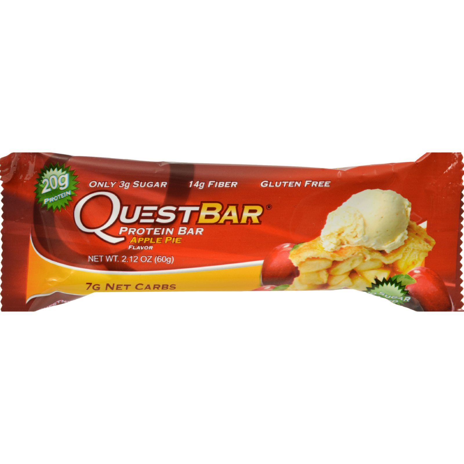 Quest Nutrition Protein Bar Apple Pie