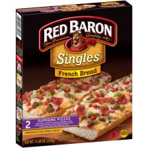 Red Baron Singles French Bread Supreme Pizzas - 2 CT