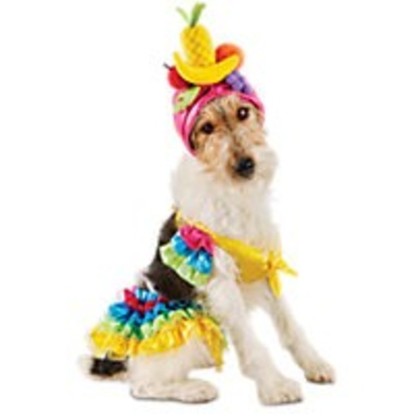 Large Halloween Tropical Girl Costume