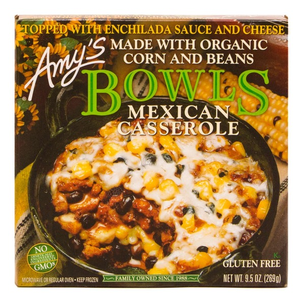 Amy's Bowls Mexican Casserole