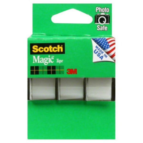 Scotch Magic Tape - 3 CT