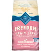 Blue Buffalo Food for Puppies, Grain-Free, Natural, Small Breed, Chicken Recipe