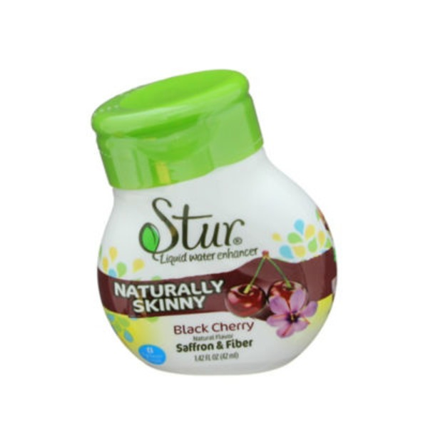 Stur Liquid Water Enhancer Naturally Skinny Black Cherry