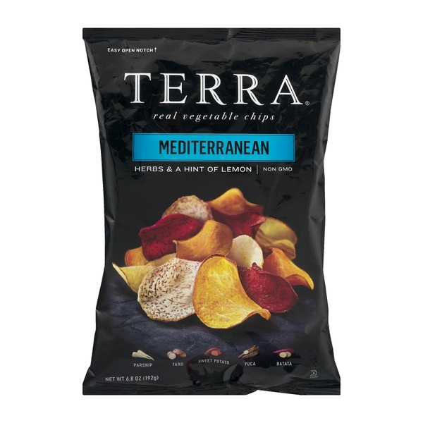 Terra Real Vegetable Chips Mediterranean