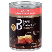 Pure Balance Salmon Potato Dog Food