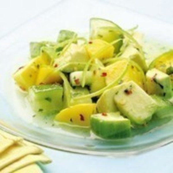 Fresh Pack Cucumber Mango Salad