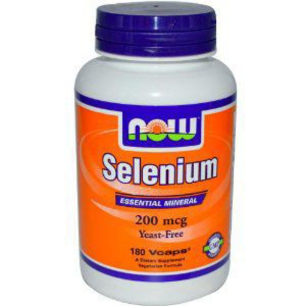 Now Selenium 200 mcg Yeast-Free V-Caps