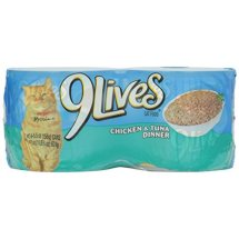 9Lives Daily Essentials Chicken & Tuna All Stages Wet Cat Food, 5.5 Oz, 4 Ct