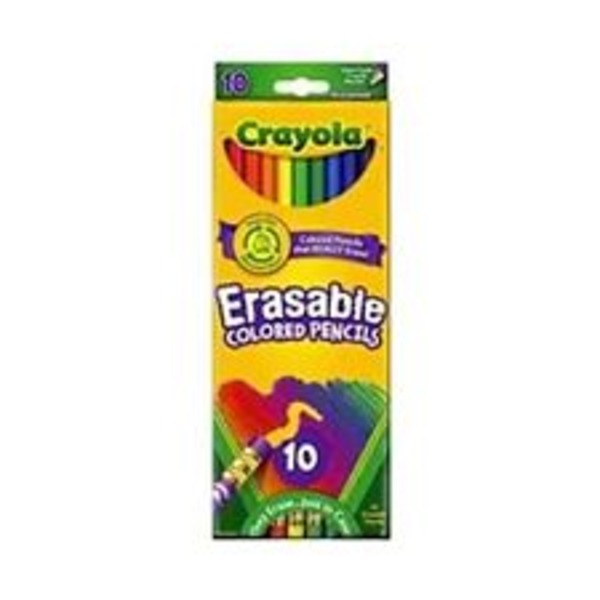 Crayola Eraseable Colored Pencils
