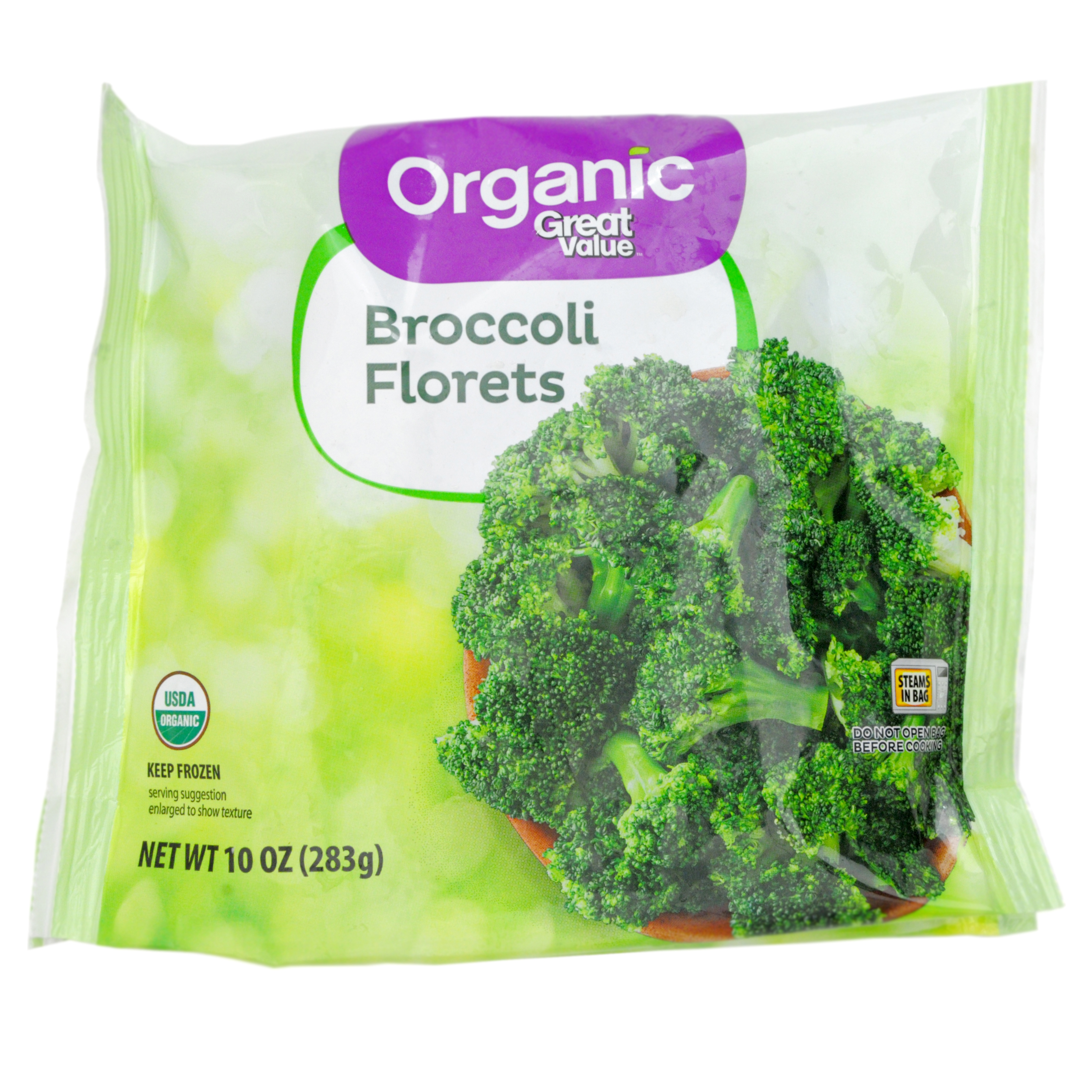 Great Value Organic Broccoli Florets