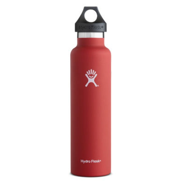 Hydro Flask 24 Oz Lava Standard Mouth Water Bottle