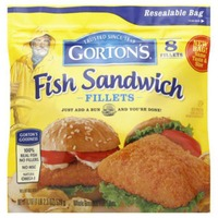 Gorton's Crunchy Fish Sandwich Fillets