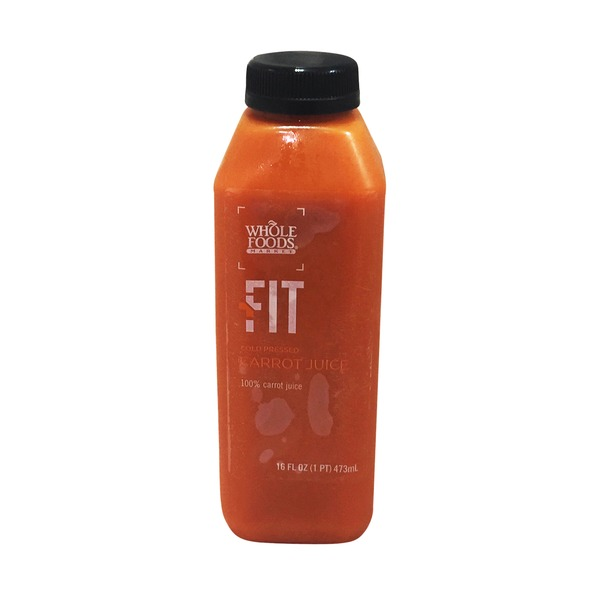 Whole Foods Market Fit Cold Pressed Carrot Juice