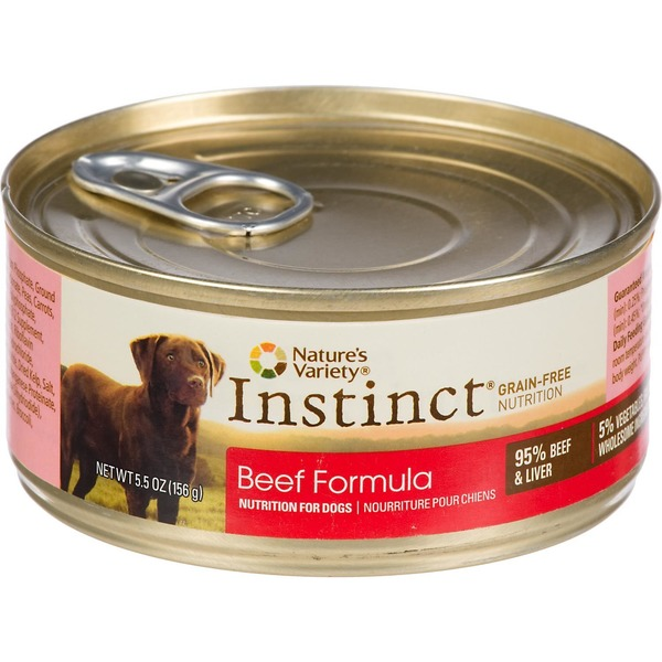 Nature's Variety Dog Food, Beef Formula