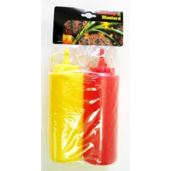 Ketchup & Mustard Dispenser Set