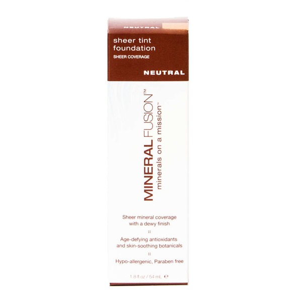 Mineral Fusion Sheer Tint Foundation - Neutral
