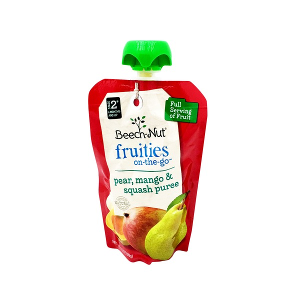 Beech-Nut Fruities Pear Mango Squash