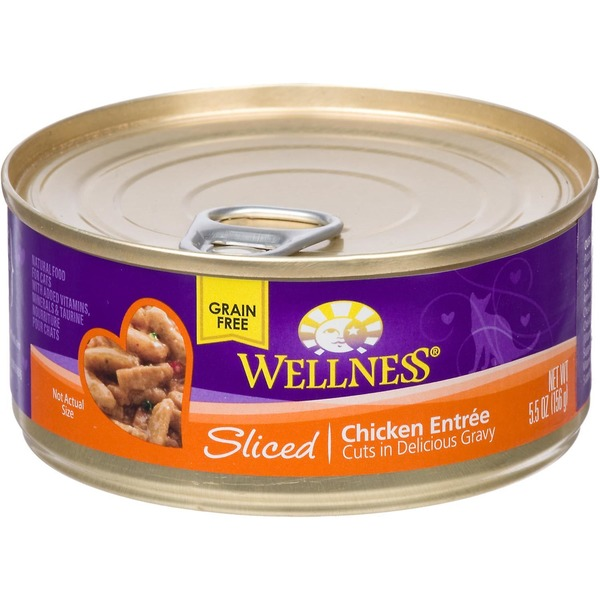 Wellness Sliced Chicken Entree Cuts In Delicious Gravy