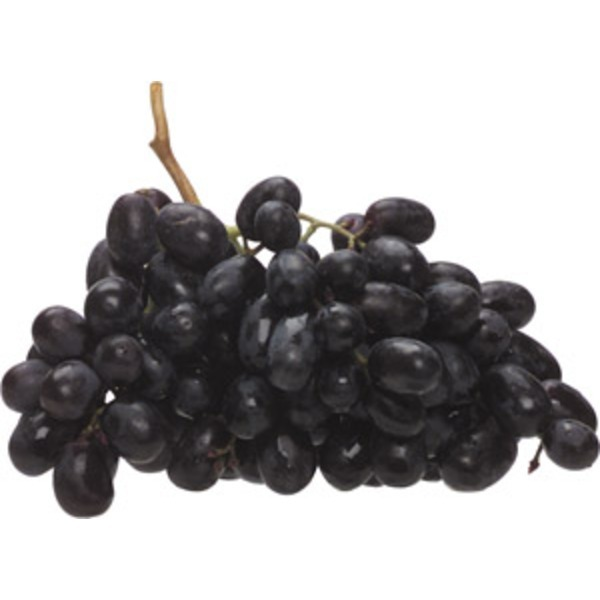 Black Seedless Grapes, Bag