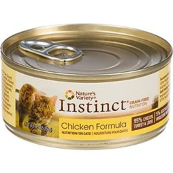 Nature's Variety Instinct Grain Free Chicken Formula Cat Food