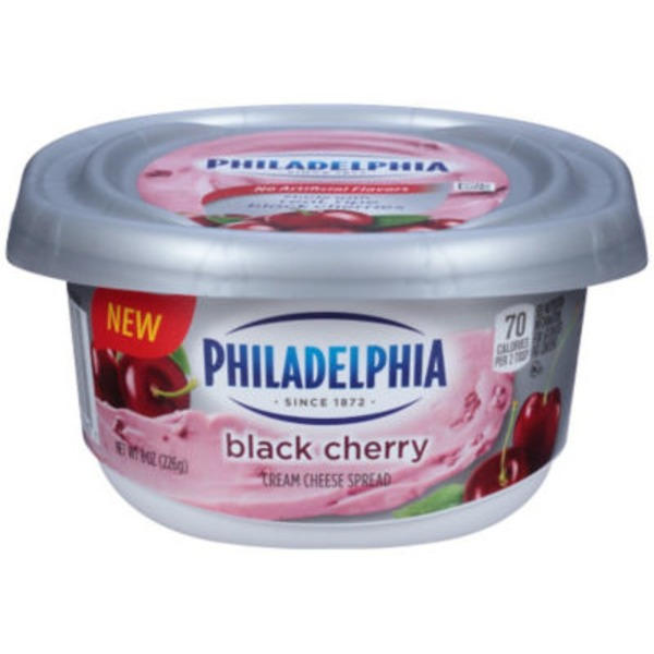 Kraft Philadelphia Black Cherry Cream Cheese Spread