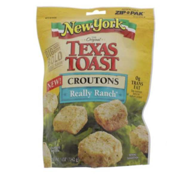New York Style Bakery Texas Toast Really Ranch Croutons