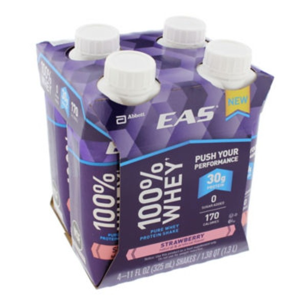 Eas 100% Whey Strawberry Pure Whey Protein Shakes