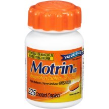 Motrin IB, Ibuprofen, Aches and Pain Relief, 225 Count