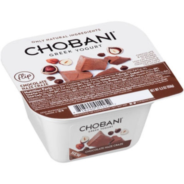 Chobani Flip Chocolate Haze Craze Low-Fat Greek Yogurt