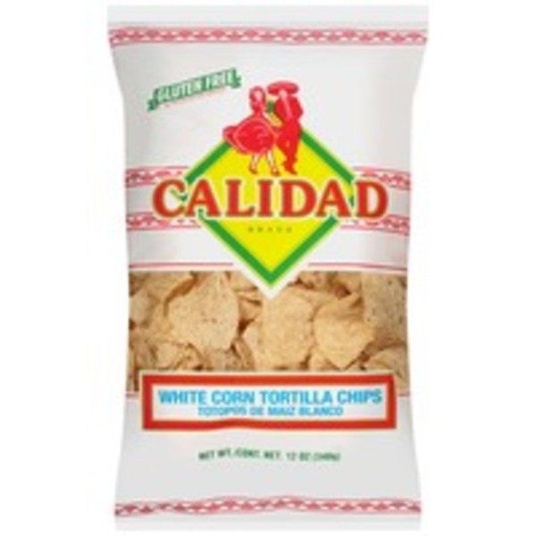 Calidad White Corn Tortilla Chips