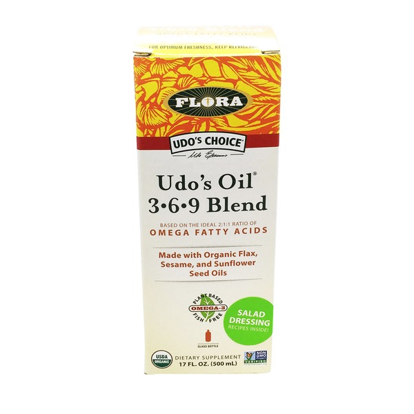 Flora Udo's Oil 3-6-9 Blend Dietary Supplement