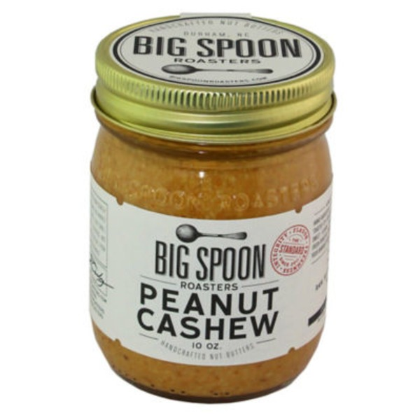 Big Spoon Roasters Peanut Cashew Nut Butter